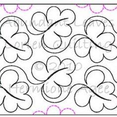 Quilting stitch pattern