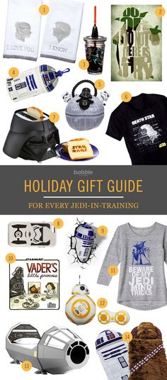 If there's one thing Star Wars fans are into it's showing off their fandom — and using Jedi mind tricks to get the gifts they want. Prep for the holiday season and the premiere of The Force Awakens by treating the whole family to some awesome galactic-themed presents.