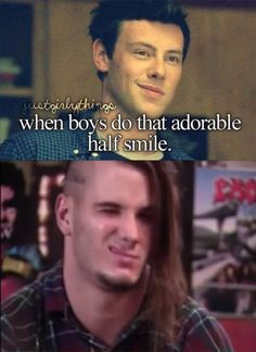 Just Girly Things Parody: When Boys Do That Adorable Half Smile | Philip