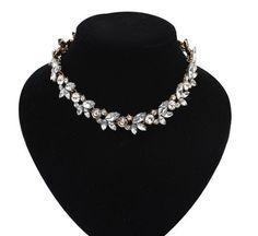 2015 Mujeres de diamantes de Imitación Gargantillas Collar de la Nueva Llegada Collares Colgantes Collar de Declaración de Moda Tendencias de la Joyería Para El Regalo Del Partido en Gargantilla Collares de Joyas y Accesorios en AliExpress.com | Alibaba Group