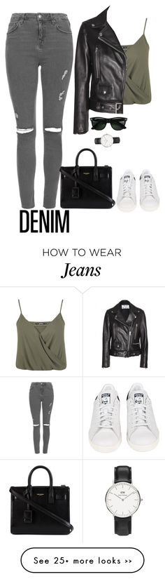 """High-Waisted Jeans"" by tw-1d-fashion on Polyvore"