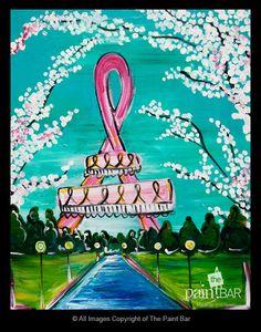Paris for a Cure - Jackie Schon, The Paint Bar