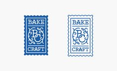 BakeCraft Logo Design on Behance Logo Inspiration, Brand Identity Design, Branding Design, Logo Branding, Corporate Branding, Monogram Logo, Candy Logo, Japanese Logo, Applied Science