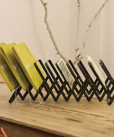 Look at this #zulilyfind! Black Accordion File Rack #zulilyfinds