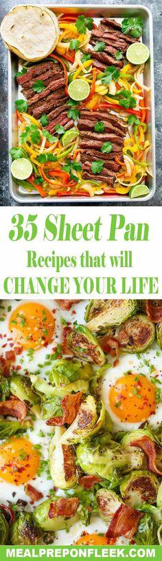 sheet pan recipes pinterest