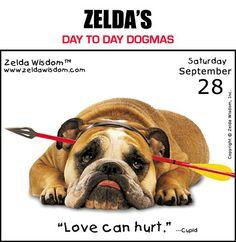 Zelda's Day To Day Dogmas 09-28-13