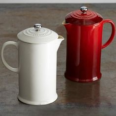 Le Creuset Cafe Stoneware French Press #williamssonoma