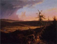 View on the Schoharie - Thomas Cole