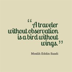 Travel Quotes - Like a Bird without Wings #vacationsplaces #TravelQuotes