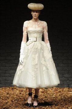 McQ by Alexander McQueen Fall 2012 - Uma inspiração Vintage #casarcomgosto