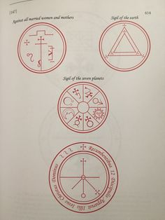 🌙Knowledge Is Power🌞 — Magical seals from The Book of Oberon Sigil Magic, Magic Symbols, Magick Spells, Witchcraft, Wicca, King Solomon Seals, Black Magic Book, Alphabet Code, Spells For Beginners