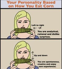 Funny pictures about The way you eat corn. Oh, and cool pics about The way you eat corn. Also, The way you eat corn photos. Haha Funny, Lol, Funny Stuff, Funny Shit, The Neighbor, Funny Quotes, Funny Memes, Jokes, Bad Memes