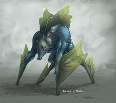 Monster No. 001 by Onehundred-Monsters.deviantart.com on @DeviantArt