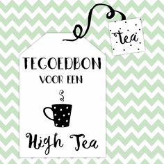 Tegoedbon High Tea - WW, verkrijgbaar bij #kaartje2go voor €1,99