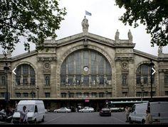 Se inaguró en 1856 la estación de París es la principal estación ferroviaria de Francia y una de las mayores del mundo