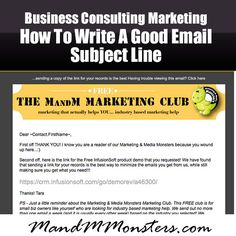 email subject lines email marketing tips