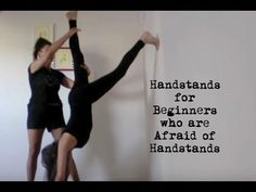 How To Do a Handstand at The Wall - Quick Yoga Handstand Tutorial for Beginners - YouTube
