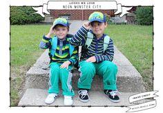 Looks We Love: Neon Monster City - Independent NancyIndependent Nancy