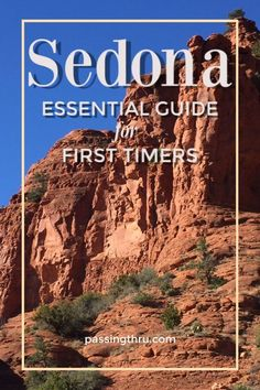 The many unique things to do in Sedona Arizona make it a don't miss! Sedona hiking trails are wonderous, melt away in a Sedona spa or sightsee in a pink Jeep. Sedona Arizona, Sedona Spa, Arizona Road Trip, Arizona Travel, Sedona Hikes, Arizona Usa, Usa Travel Guide, Travel Usa, Travel Guides