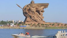 Giant sculpture or colossus of Guan Yu / Guan Gong