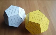 DIY 3D Calender | Gör Det Själv: 3D Kalender TUTORIAL: https://www.youtube.com/watch?v=aZsvdpzg_KU&feature=youtu.be