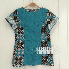 Batik Fashion, Ethnic Fashion, African Fashion, Blouse Batik, Batik Dress, Sewing Clothes, Diy Clothes, Clothes For Women, Kids Dress Wear