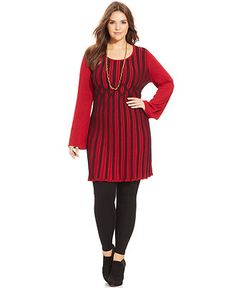 Style&co. Plus Size Ribbed-Knit Sweater Dress - Macy's.
