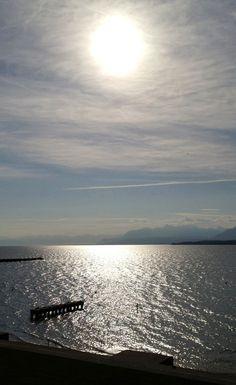 Leman Lake - Switzerland - Photo Connan from Spiralps Lake Geneva, Lausanne, Travel Destinations, Germany, Landscape, Lakes, Outdoor, Celestial, Nature