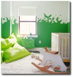 The Kids Corner: wall paint