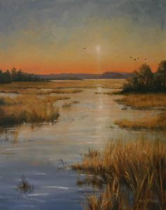 Lowcountry/ marsh scene.. Original Painting