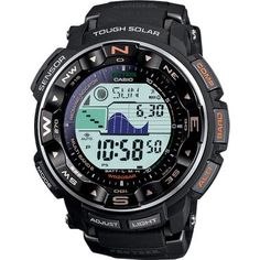 Nice watch...  The puppy guides you on when the tides are high and the phases of the moon.  Great for camping, hunting and fishing!