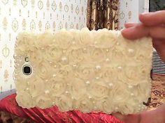 Telefoon shell diy materialen pakketten schijf bloemen Lace Rose Beauty IDY pasta diamant mobiele telefoon shell materiaal zakken Post - Taobao