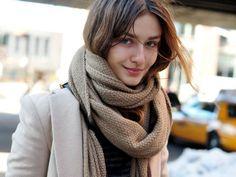 7 Adorable Winter Scarves ...