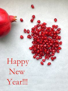 My Little Expat Kitchen: New Year's pomegranate