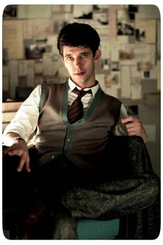 Ben Whishaw as Freddie Lyon in The Hour