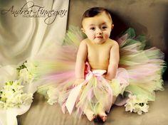 Pink Tutu skirt baby girl 1st Birthday dress by DanburyLane, $25.95