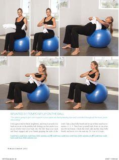 Pregnancy Exercises from Pregnancy Magazine Part 2