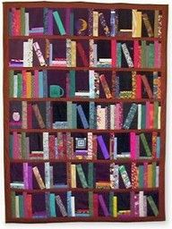 Bookshelf Quilt Paper Pieced Patterns Piecing Square Quilting Projects