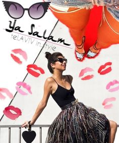 Ode to Ya Salam fashion blog www.yasalam.co (@Korin Avraham) created with Bazaart