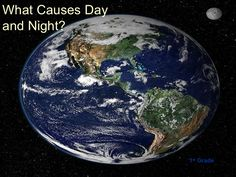 What causes day and night ppt