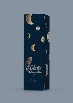 La Chouette Champagne. Design by Aivan.