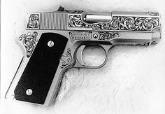 Engraving by Billy Bates--Gun Engraving Photos