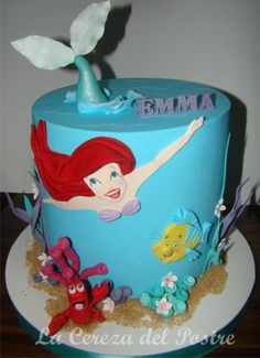 Little Marmaid - Cake by Celeste
