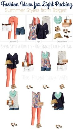 If you are traveling this summer, there is no need to pack a ton of clothes. If you are looking to pack light you just need some keep pieces to mix and match. Take these 7 items of clothes that can land you 7+ great summer travel outfits!