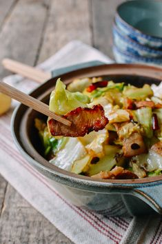 Chinese Cabbage Stir-Fry   thewoksoflife.com