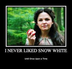 I personally thought she was a pansy. OUAT changed all that ha ha ha! She kicks butt...literally.