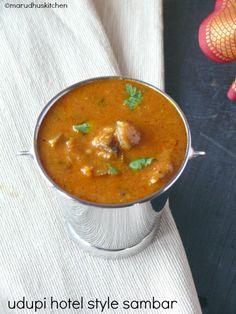 udupi hotel style sambar recipe /sambar for idli dosa