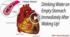 Drinking Water on Empty Stomach Immediately After Waking Up! - JGANIMO
