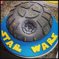 Celebrate your Star Wars-loving kid with a birthday cake that's out of this galaxy! Let these themed cakes inspire your child's Star Wars cake! Star Wars Birthday Cake, Star Wars Cake, Star Wars Party, It's Your Birthday, Boy Birthday, Birthday Cakes, Birthday Ideas, Cupcakes, Cupcake Cakes