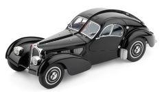 Classic Model Cars Bugatti 57 SC, Atlantic 1937, Black Limited Edition by CMC-Classic Model Cars, USA,